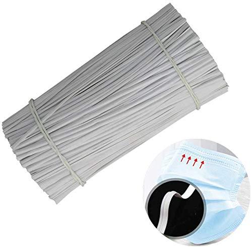 Mingjun - 100 bridas de plástico flexible para la nariz, 100 unidades, 3,9 pulgadas, para máscara, costura, manualidades, jardinería