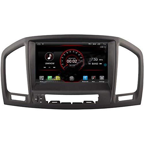 FWZJ Android 10 Car Stereo Radio Audio Navegación GPS Pantalla táctil HD de 8 Pulgadas para Opel Vauxhall Holden Insignia 2008-2013 Compatible con cámara de visión Trasera/SWC/Mirror Link/W