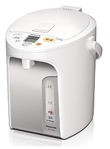 パナソニック 電気ポット 3.0L 真空断熱 省エネ保温 お好み温度調節 給湯量(2段階+コーヒー用) コードレス...