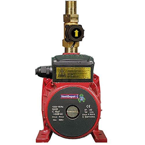Presurizador de Agua, PumpFirst, MXBMB-001, 90LPM, 3 a 4 Servicios, 120V,1F,60Hz, 500Watts,Ø Tuberia: 3/4', 1.9Kg/cm², IP42
