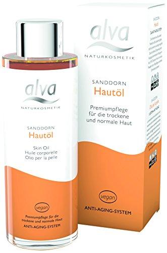 alva naturkosmetik Sanddorn Hautöl, 1er Pack (1 x 100 ml)