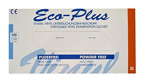5 x Haushaltshandschuhe/Vinyl-Handschuhe,weiß, Größe
