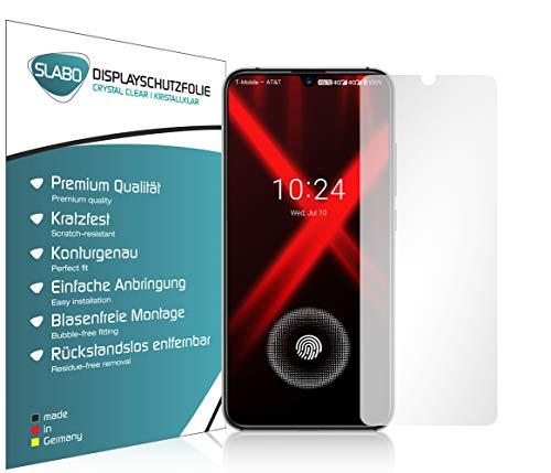 Slabo 4 x Bildschirmschutzfolie für UMIDIGI X Bildschirmfolie Schutzfolie Folie Zubehör Crystal Clear KLAR