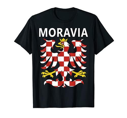 モラヴィアン・イーグル 歴史的なモラビアの誇りグラフィック Tシャツ