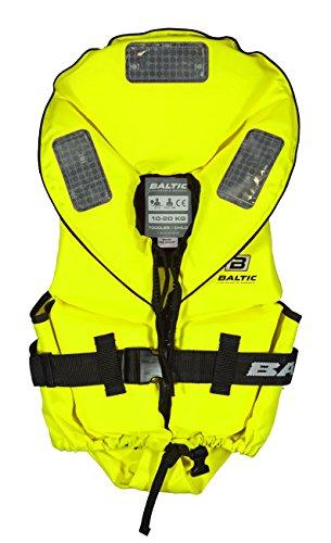 Baltic Pro Sailor 100N Kinder Feststoff Rettungsweste, Farbe:gelb, Größe:03-10kg