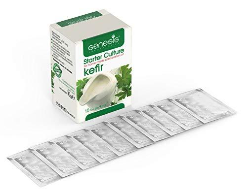 Coltura per Lattoinnesto Kefir – Pacco di 10 Bustine Liofilizzate