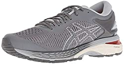 ASICS Women's Gel-Kayano 25 Running Shoes, 10W, Carbon/MID Grey