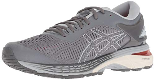 ASICS Women's Gel-Kayano 25 Running Shoes, 5M, Carbon/MID...
