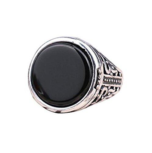 HFJ&YI&H Moda unisex in lega anello resina Vintage personalità intaglio 1pc , 7