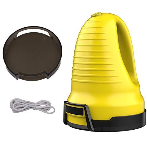 OrangeC Dégivreur de Pare-Brises sur Batterie électrique Grattoir à Glace de Voiture USB Rechargeable Grattoir à Neige pour Voiture