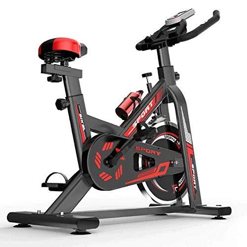 Pedales bicicleta estatica Bicicleta estática, Inicio Ejecución de la bicicleta estática, cubierta de Spin ciclo de la bici, manillar ajustable y la altura del asiento, pedales Peso Pérdida Indoor Spo