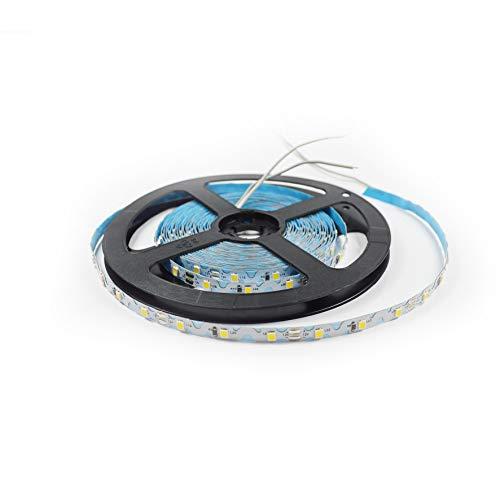 LED Streifen | 5 m | selbstklebend | für kleine Buchstaben oder Biegungen | sehr biegsam | schneidbar | 2835 SMD | weiß 4000K