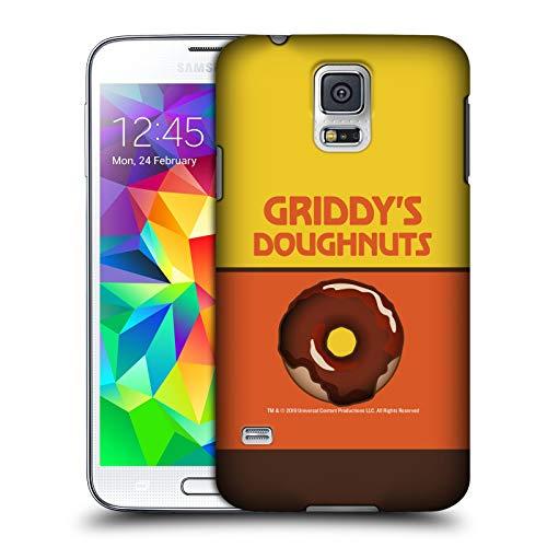 Head Case Designs Ufficiale The Umbrella Academy Cioccolato Griddy's Ciambelle Cover Dura per Parte Posteriore Compatibile con Samsung Galaxy S5 / S5 Neo