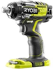 Ryobi R18IW7-0 18V ONE+ draadloze borstelloze slagmoersleutel met 3 snelheden (alleen lichaam)