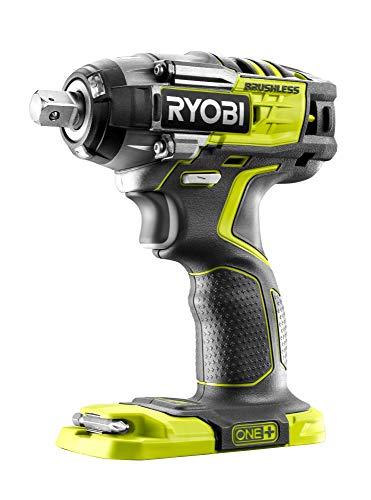Ryobi R18iW7-0 Llave de Impacto Sin Escobillas de 18v, 270Nm, 4 Velocidades, con AutoStop. Sin Batería