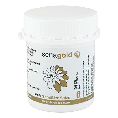 Schüßler Salz Nr.6 - Kalium sulfuricum D6-400 Tabletten, glutenfrei