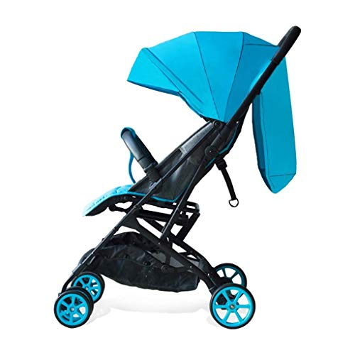 Best Price! FJH Rocking Horses Pushchairs Trolley Child Sunshade Folding Shockproof Adjustable Porta...