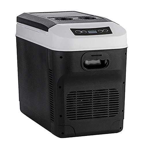 FHKBK Refrigerador portátil Refrigerador de Coche Congelador Vehículo Coche/Camión 24 V / 12 V / 220-240 V Mini refrigerador eléctrico para conducción, Viaje, Uso doméstico (28 litros)