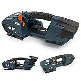 Flejadora eléctrica for 13-16mm De plástico de PET / PP cinturón Directo / Carga de la batería de 4000 mAh portátil caliente automática de fusión Strapping herramienta Mejorar la eficacia de empaqueta
