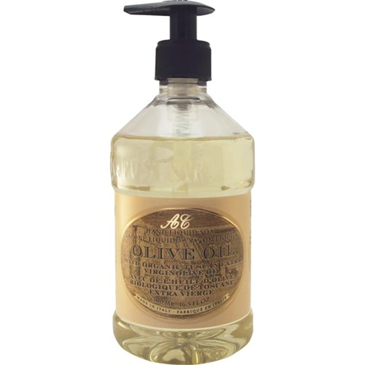 カラス決定する平らなSaponerire Fissi レトロシリーズ Liquid Soap リキッドソープ 500ml Olive Oil オリーブオイル