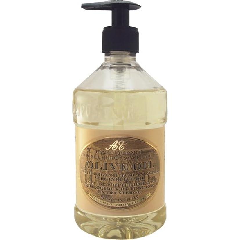 ラメタンク感嘆符Saponerire Fissi レトロシリーズ Liquid Soap リキッドソープ 500ml Olive Oil オリーブオイル