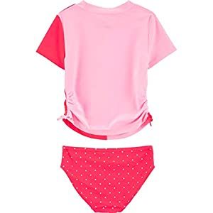 Carter's Girls' Rashguard Swim Set