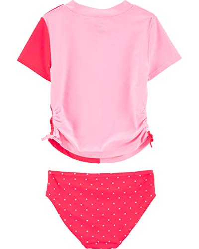 Carter's Girls' Rashguard Swim Set 4