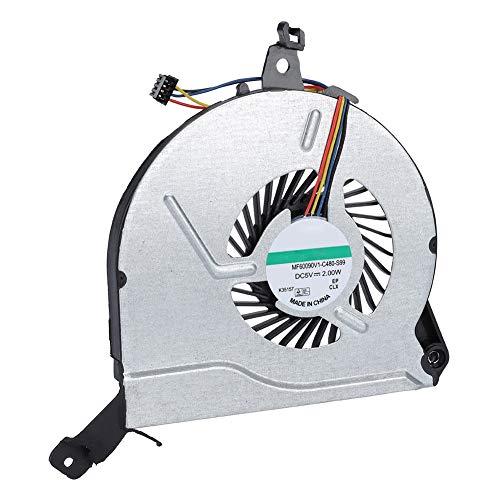 Diyeeni Enfriador de Ventilador de Enfriamiento para HP 15-V 15-P 14-V 767712-001,Nuevo Ventilador de Enfriamiento de CPU 5V 4Pin