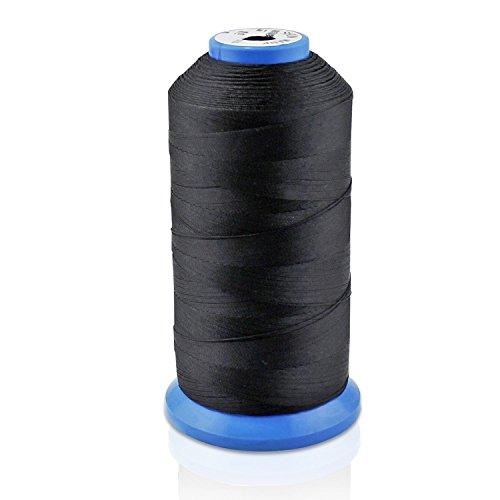 Aussel T70 - Hilo de Coser de Nylon , negro