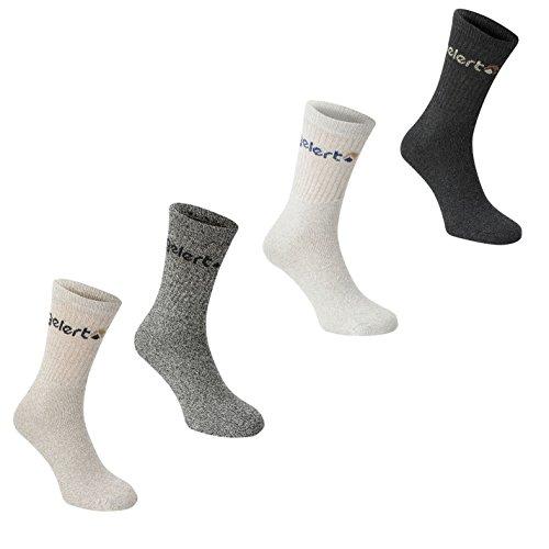 Gelert Uomo Walking Boot Sock 4 Pack Grigio Uomo 7-11