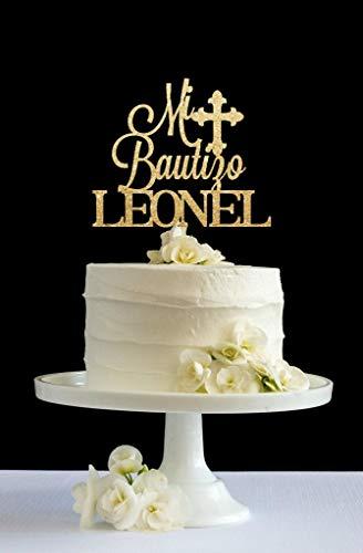 Cómo personalizar las decoraciones para pasteles: después de realizar el pedido, por favor, envía la información personalizada al vendedor por el sistema de mensajes de Amazon de compradores y vendedores. La decoración para tarta está hecha de acríli...