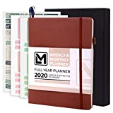 2020 Planner Little More – 7'x 9' Luxurious Dated Weekly & Monthly Planner 2020 with Productivity & Calendar Stickers in Gift Box - Daily Agenda Guaranteed to Get You Organized-Thick Paper, Inner Pock