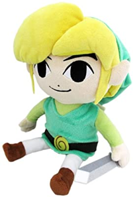 "Little Buddy The Legend of Zelda The Wind Waker 8"" HD Link Plush by Japan VideoGames"