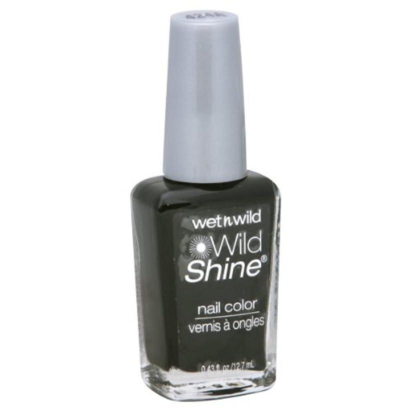 ドキドキ山岳シュートWet N Wild Shine Nail Color: Black