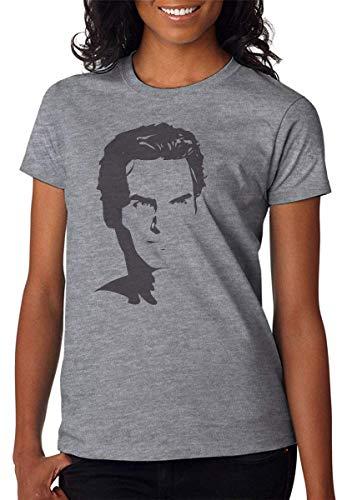 Swiss Tennis Player Portrait Damen T-Shirt XX-Large