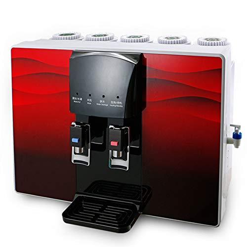 Depuratore di acqua di osmosi inversa da tavolino, erogatore di acqua autoadescante caldo e freddo del riscaldatore diretto della famiglia, nessuna necessità di installare o montare