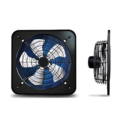 JDYDDSK Extractor de ventilación Industrial, Extractor axial, Ventilador de Uso General, Ventilador de Aire Comercial de 16 Pulgadas con rodamientos de Bolas, 1780 m3 / h para de baño, Cocina