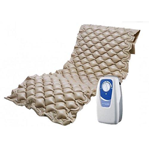 Medical Sunrise Colchón neumático Anti-escaras con regulador de presión. Válido hasta 110 Kg. de Peso. ⭐