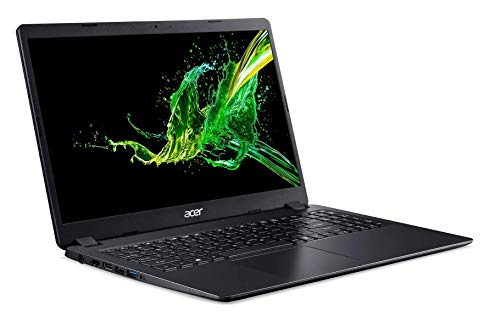 Acer Aspire 3 A315-56-3804 Ordinateur Portable noir 15.6 FHD (Intel Core i3, 8Go de RAM, SSD 256Go, Intel HD Graphics, Windows 10S) - Clavier AZERTY (French)