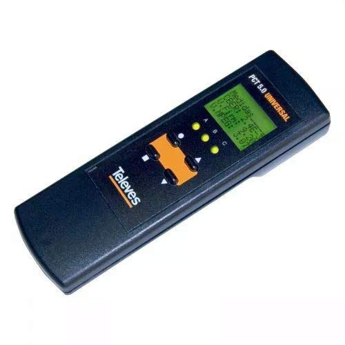 Televes UHP1 - Mando a Distancia (Especial, Alámbrico, Botones, Pantalla incorporada, Negro)