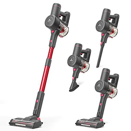 NEQUARE Cordless Vacuum, 175W Stick Vacuum Cleaner with...