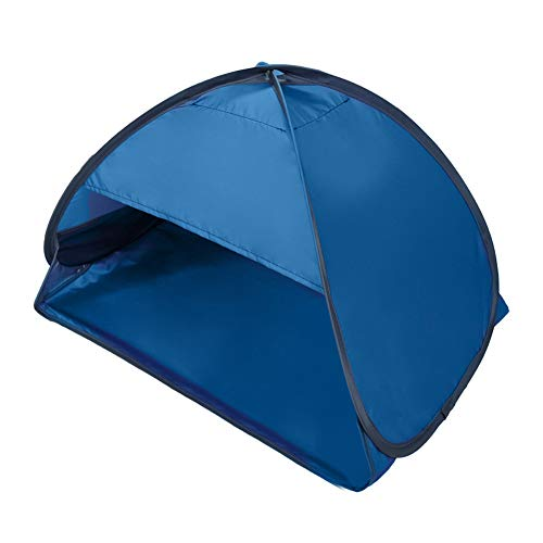WERTAZ pop up strandmuschel klein Sun Shelters Instant Pop Up Face Shade Baldachin Anti-UV Automatic Shade Zelt für Outdoor Strand Camping Angeln Wandern