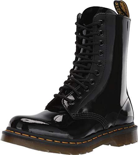 Dr. Martens Damen DM25277001_41 bovver Boots, Black, EU
