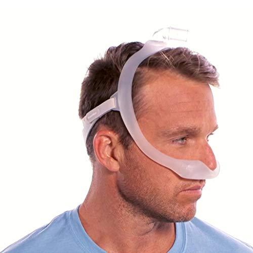 HYRL Bequeme Dreamwear-Nasenmaske unter der Nase Nasenmaske Anti-Schnarch-Schlafmaske-Atemgerät für Schlafapnoe