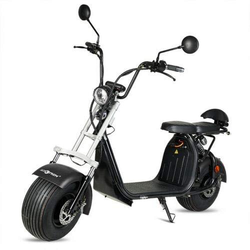 VIRTUE Moto electrica Scooter matriculable de 1500w bateria Extraible de 20Ah 60v...