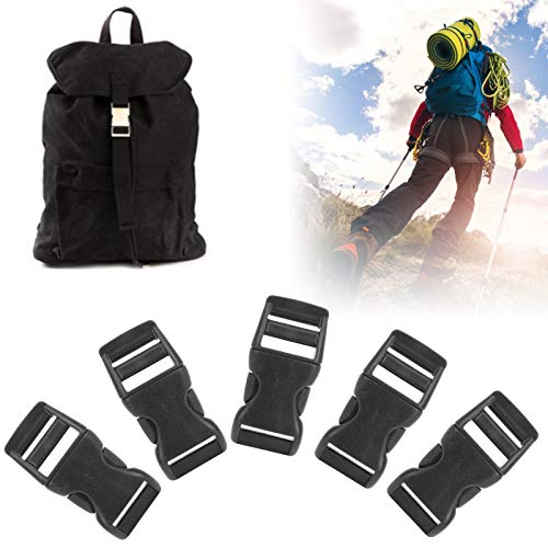 Annjom Bag Buckle, 40Pcs Buckles, Outdoor Bags for Camping Mountain‑Climbing