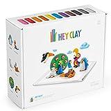 Hey Clay Interaktive Knete Kinderknete Modelliermasse 18 Behälter DIY-Bastelset App Kinderspielzeug...