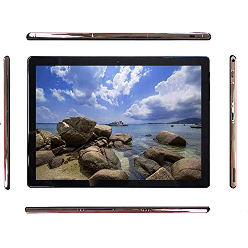 In de resolutie van het 10,1-inch 6,9 mm ultra-dunne metalen behuizing van de Tablet PC is 1920 x 1200, 4 GB RAM 32 GB ROM Wifi Bluetooth GPS Ultra-Clear Touch Screen nieuwste stijlen,White