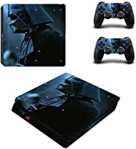 Playstation 4 Slim Skin Set – Space warior - HD Printing Vinyl Skin Cover Slimtective for PS4 Slim Console and 2 PS4 Controller by Mr Wonderful Skin .