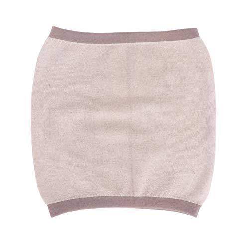 Healifty Winter Kaschmir Nierenwärmer Rückenwärmer Elastic Taille Unterstützung Taille Beschützer für Damen Herren Hexenschuss Rückenschmerzen Kaffee Größe L